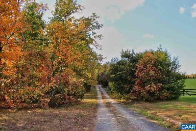 Fluvanna County Lots & Land For Sale: Lot A Rolling Rd South