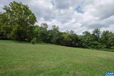 Albemarle County Lots & Land For Sale: Crozet Ave