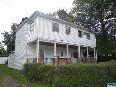 Gordonsville Single Family Home For Sale: 313 Cobb St