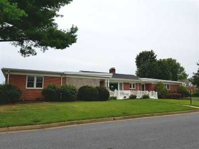 Harrisonburg Single Family Home For Sale: 760 Elmwood Dr