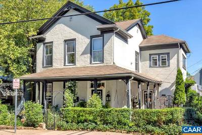Charlottesville Single Family Home For Sale: 405 Dice St