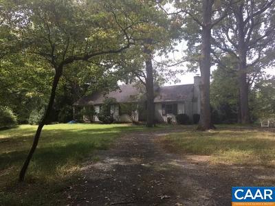 Fluvanna County Single Family Home For Sale: 267 Courthouse Rd
