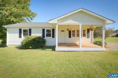 Fluvanna County Single Family Home For Sale: 2676 Thomas Jefferson Pkwy