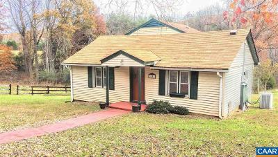 Albemarle County Single Family Home For Sale: 3151 Old Lynchburg Rd