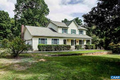 Scottsville Single Family Home For Sale: 5668 Rolling Rd South