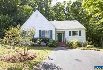 Charlottesville Single Family Home For Sale: 1642 Stonecrop Ct