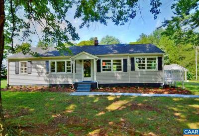 Louisa County Single Family Home For Sale: 8882 Three Notch Rd