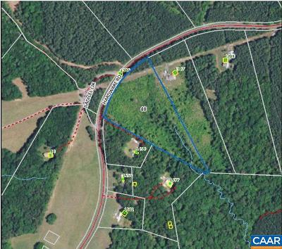 Fluvanna County Lots & Land For Sale: Hardware Rd