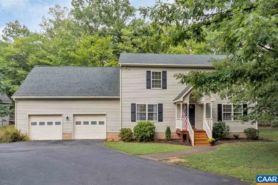 Fluvanna County Single Family Home For Sale: 4 Ponderosa Ln
