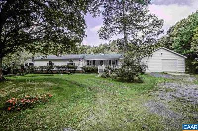 Fluvanna County Single Family Home For Sale: 323 Peaceful Ln