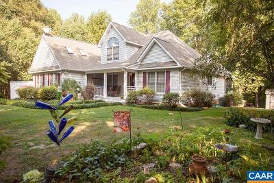Fluvanna County Single Family Home For Sale: 881 Oak Creek Rd