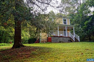Charlottesville Single Family Home For Sale: 2197 Stony Point Rd
