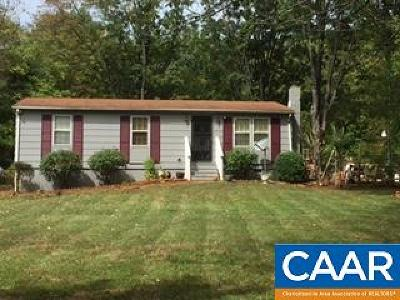 Albemarle County Single Family Home For Sale: 514 Newtown Rd