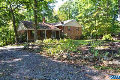 Nelson County Single Family Home For Sale: 8290 James River Rd