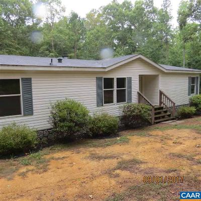 Gordonsville Single Family Home For Sale: 2948 Red Hill Rd