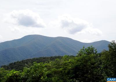 Nelson County Lots & Land For Sale: Bryant Mountain Rd