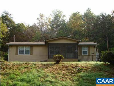 Nelson County Single Family Home For Sale: 386 High Peak Ln