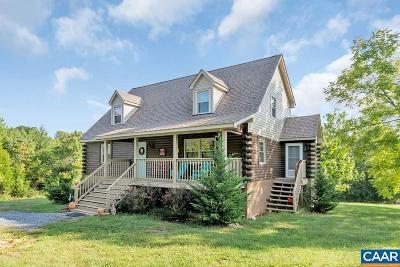 Single Family Home For Sale: 1614 Scotts Bottom Rd