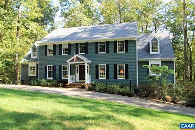 Charlottesville VA Single Family Home For Sale: $649,000