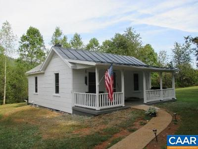 Nelson County Single Family Home For Sale: 3626 Laurel Rd
