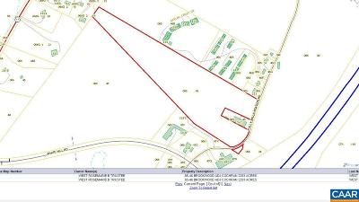 Augusta County Lots & Land For Sale: Folly Mills Station Rd