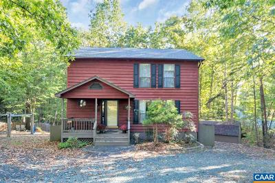 Fluvanna County Single Family Home For Sale: 15 Kingswood Rd