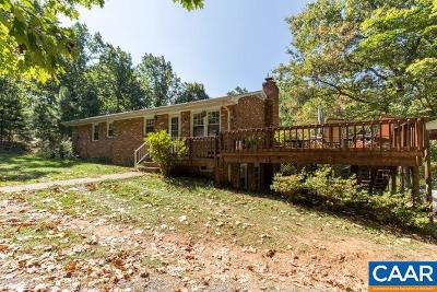Nelson County Single Family Home For Sale: 1448 Chapel Hollow Rd