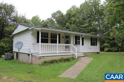 Albemarle County Single Family Home For Sale: 8585 Pocket Ln