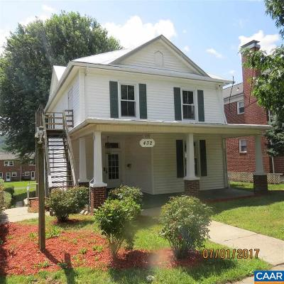 Waynesboro County Multi Family Home For Sale: 432 S Wayne Ave