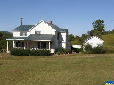 Nelson County Single Family Home For Sale: 394 B Stagebridge Rd #Lot 7