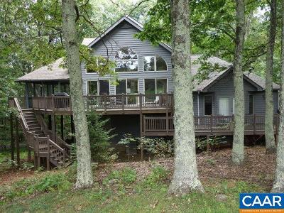 Wintergreen Single Family Home For Sale: 133 Bear Run
