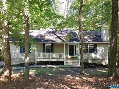 Fluvanna County Single Family Home For Sale: 67 Amethyst Rd