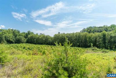 Fluvanna County Lots & Land For Sale: Tabscott Rd