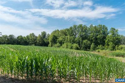 Fluvanna County Lots & Land For Sale: 1001 Tabscott Rd