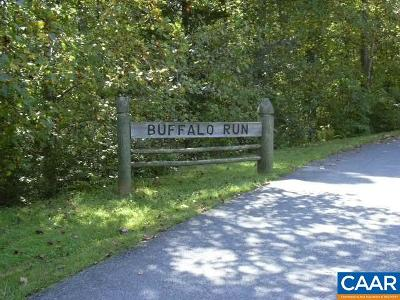 Lots & Land For Sale: Buffalo Run Rd