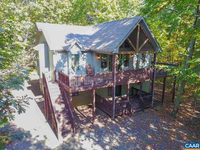 Nelson County Single Family Home For Sale: 12 High Pasture Ln