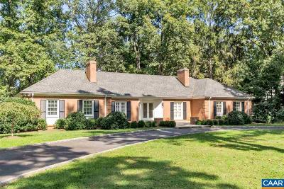 Farmington (Albemarle) Single Family Home For Sale: 980 Windsor Rd