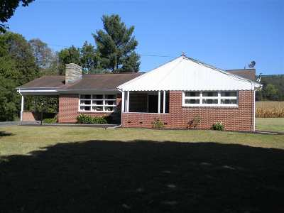 Rockingham County Single Family Home For Sale: 11980 Brocks Gap Rd
