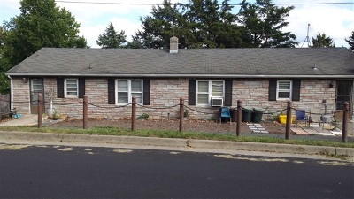 Harrisonburg Multi Family Home For Sale: 1460 Hillcrest Dr #1460, 14