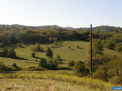 Nelson County Lots & Land For Sale: Lot 3a Stagebridge Rd