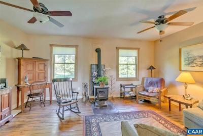 Fluvanna County Single Family Home For Sale: 15265 West River Rd
