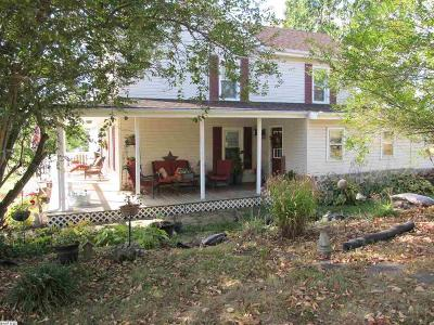 Waynesboro Single Family Home For Sale: 2095 Hermitage Rd