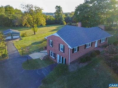Albemarle County Single Family Home For Sale: 5967 Jarmans Gap Rd