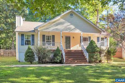 Fluvanna County Single Family Home For Sale: 649 Jefferson Dr