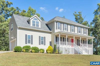 Albemarle County Single Family Home For Sale: 2852 Monacan Trail Rd