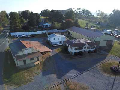 Hinton Commercial For Sale: 6606 Rawley Pike