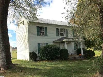 Augusta County Single Family Home For Sale: 1195 Kiddsville Rd