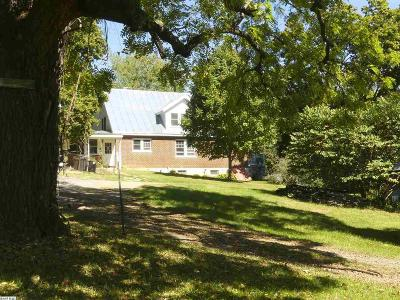 Staunton Single Family Home For Sale: 3571 Old Greenville Rd