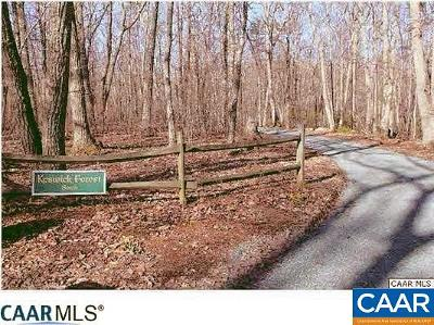 Albemarle County Lots & Land For Sale: Woods Edge Rd