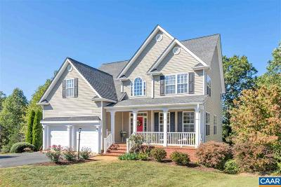 Charlottesville Single Family Home For Sale: 1267 Redfields Rd